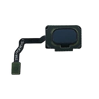 Samsung GH96 11479D knapp + fingeravtrykk Flex kabel blå / coral blå for Galaxy S9 G960F / S9 duo G965FD / S9 pluss G965 / S9 pluss duo G965FD