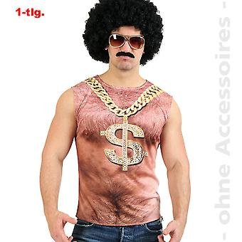 Pimp redneck costume mens chest hairs bathroom key outfit mens costume