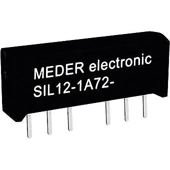 StandexMeder Electronics SIL12-1A72-71L Reed relay 1 maker 12 V DC 1 A 15 W SIL 4