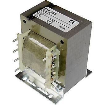 Elma TT IZ 68 universele lichtnet transformator 1 x 230 V 1 x 7,5 V AC, 9,5 V AC, 12 V AC, 14 V AC, 16 V AC, 18 V AC 90 VA 5 A
