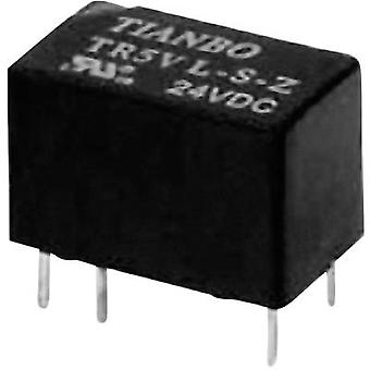 Tianbo Electronics TR5V-M-12VDC-S-Z PCB relay 12 V DC 2 A 1 change-over 1 pc(s)