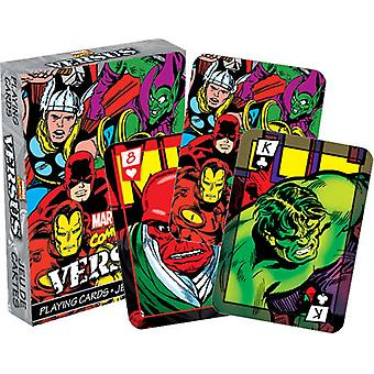 Marvel Comics Versus (Col) Set Of 52 Playing Cards