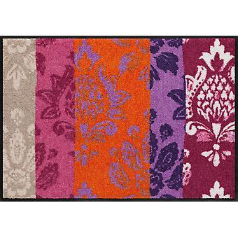 Romantic ornaments by Salon lion washable floor mat