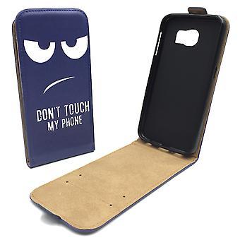 Mobiele telefoon geval zakje voor mobiele Samsung Galaxy S6 niet raken mijn telefoon