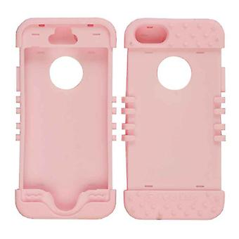 Rocker serie Skin Hoes voor de Apple iPhone 5/5S (roze)