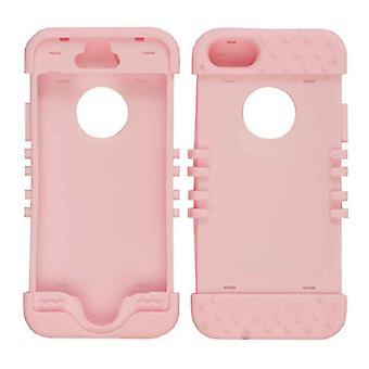 Rokkari Series ihon asia Apple iPhone 5/5S (pinkki)