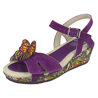 Jenter Clarks sommerfugl ut kile sandaler