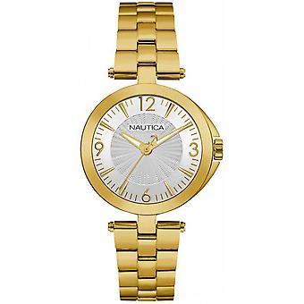 Nautica ladies watch bracelet watch NAD14001L stainless steel