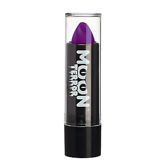 Moon Terror - Halloween Lipstick makeup - 5g - Easily create spooky designs like a pro! Perfect for vampire, ghost, skeleton, witch, pumpkin, monster etc - Poison Purple