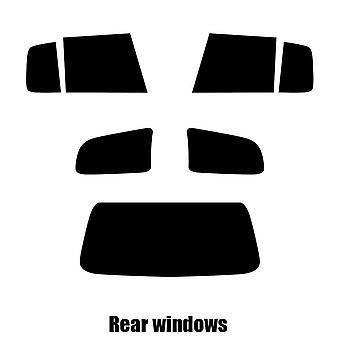 قبل قص صبغة نافذة-رينو ميجان الحوزة-2000 إلى 2003--ويندوز خلفي