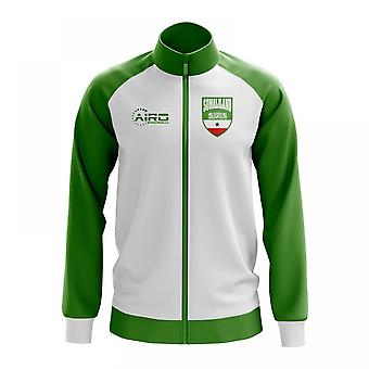 Somaliland Konzept Fußball Trainingsjacke (weiß)