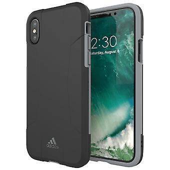 Adidas originals dual layer Har case for Apple iPhone X / XS 5.8 case grey
