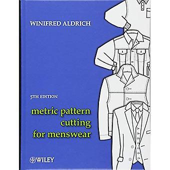 Taglio del modello metrico per Menswear