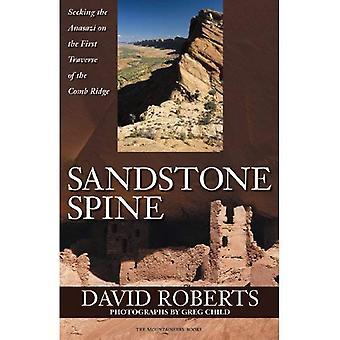 Sandsten ryggraden: Söker Anasazi på första traversen av kam åsen