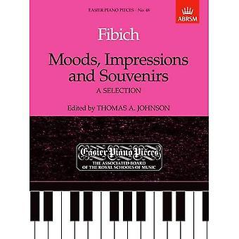 Nastroje, wrażenia & pamiątki: Utwory fortepianowe, łatwiejsze 48 (łatwiejsze utworów fortepianowych (ABRSM))
