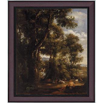 Avec Ramlandscape avec chèvre et chèvres, John Constable, 61x51cm