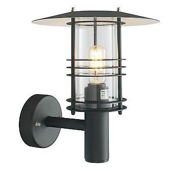 Stockholm utendørs veggen lanterne - Elstead belysning St1 svart