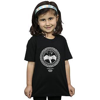 Looney Tunes Girls Sylvester Greek Circle T-Shirt