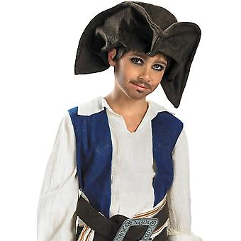 Chapéu de pirata Jack Sparrow para crianças