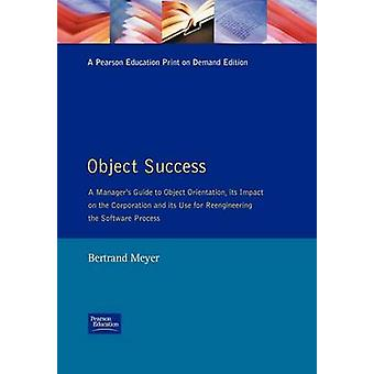 Object SuccessManagers Guide OO Tech by Meyer