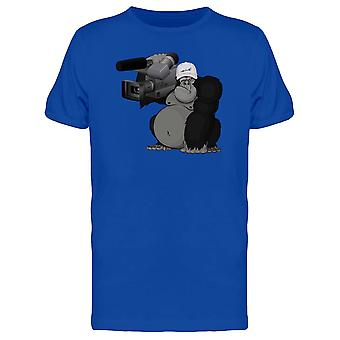 Gorilla With Expensive Camera Tee Men's -Image by Shutterstock