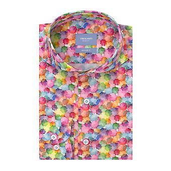 Tresanti Colourful Fantasy Cotton Long Sleeve Men's Shirt
