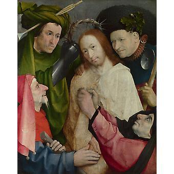 Christ Mocked, Hieronymus Bosch, 50x40cm
