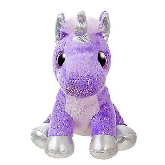 """Contos Sparkle 7 """"polvilhe brinquedo de pelúcia roxo unicórnio"""