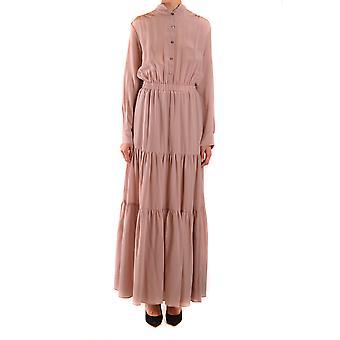 Semi-couture Ezbc156005 Women's Pink Silk Dress