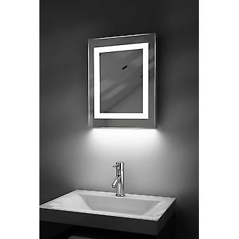 Auto Colour Change Bathroom Mirror With Demist Pad & Sensor k157irgb