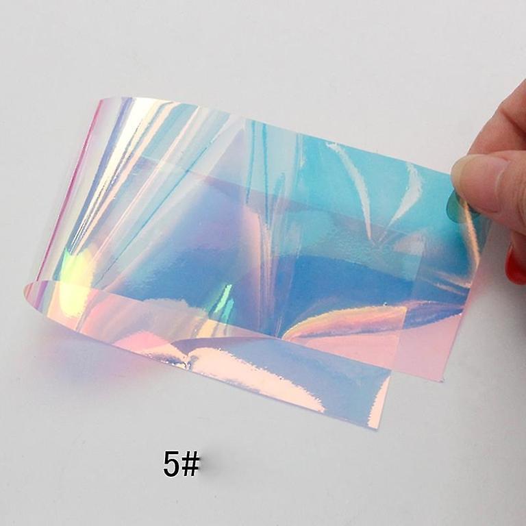 Glass folie for spiker dekorasjon