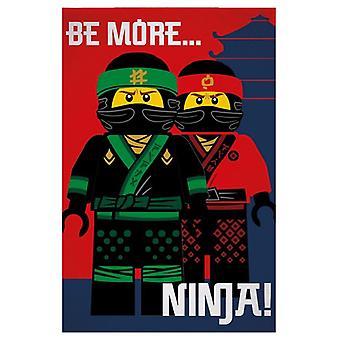Lego Ninjago Film Ninja Fleece Decke