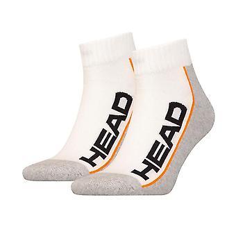Head socks 2 pair white