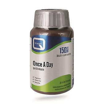 Quest Vitamins Once A Day Tabs 150 (601352)