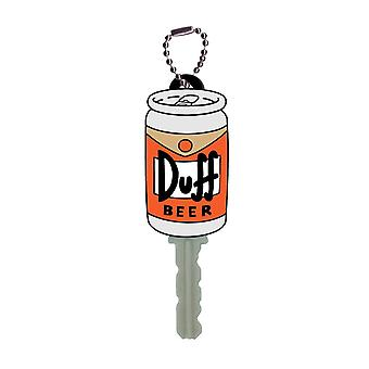 Key cap-The Simpsons-Duff øl myk PVC holder leker ny 27796