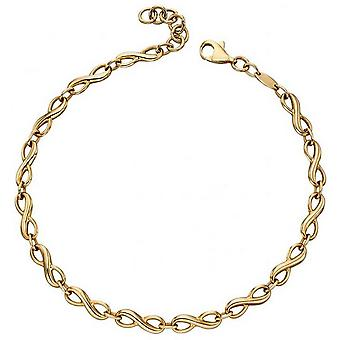 Elements Gold Infinity Tennis Bracelet - Gold