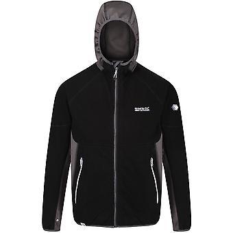 Regatta Mens Kinver Full Zip Knit Effect Fleece Jacket