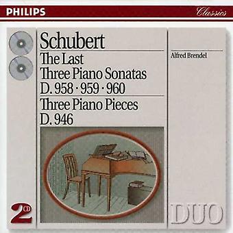 Alfred Brendel - Schubert: The Last Three Piano Sonatas [CD] USA import