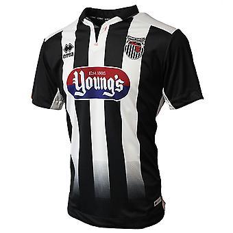 2019-2020 Grimsby Town Errea Home Football Shirt