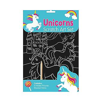 Unicorn Scratch Art Set