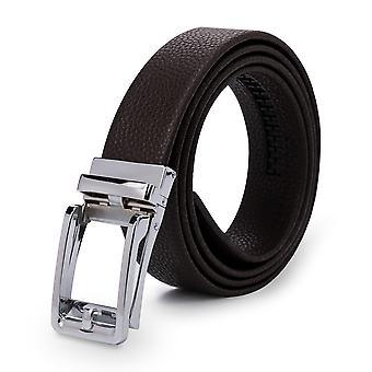 Allthemen Men ' s bőr öv automatikus csat Business Belt For Men 4 színek