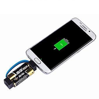 Chargez votre mobile avec des piles AA/AAA standard