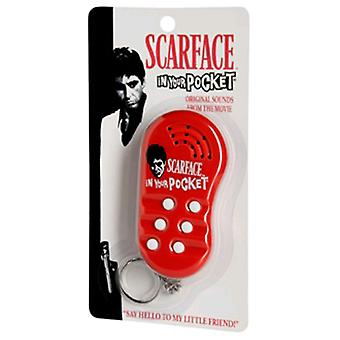 Scarface In Your Pocket Talking Keychain