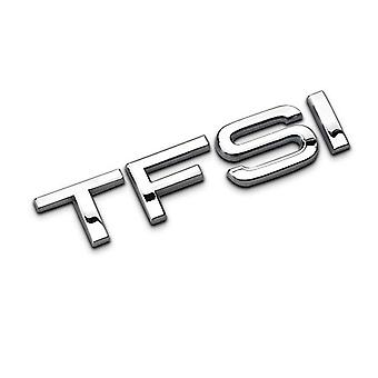 Chrome Audi TFSI Lettering Rear Boot Badge Emblem For A6 A3 A4 A5 TT A7 S4 S5 S6 Coupe TFSI