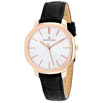 Christian Van Sant Women's Octave Slim Silver Dial Watch - CV0503