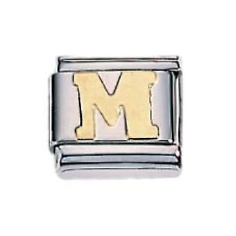 ZOPPINI S.Steel Letter-M Charm