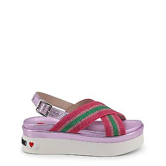 Love moschino women-apos;s wedges various colours ja16166g17ic