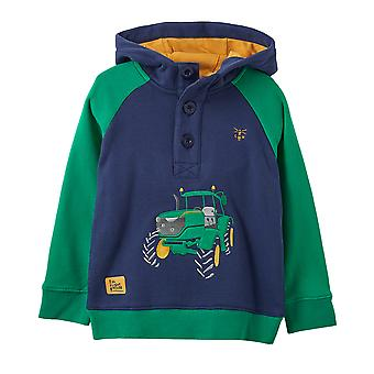 Lighthouse Jack Boys Sweater Tractor Applique