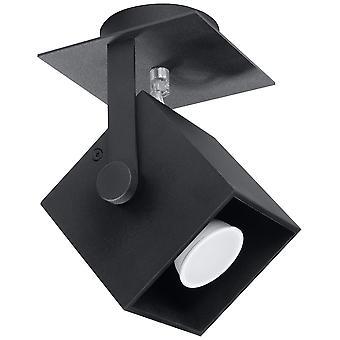 Sollux CEDRA 1 Lumière Spotlight Noir SL.0319