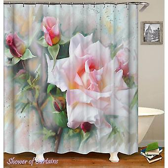 2 Pcs 180X230 Cm Blockout Curtains With 3 Layers